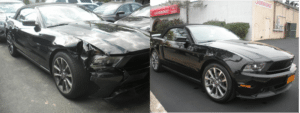 Before and After Car Accident Repair